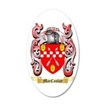 MacCaulay 35x21 Oval Wall Decal