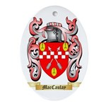 MacCaulay Ornament (Oval)