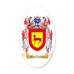 MacCartney Oval Car Magnet