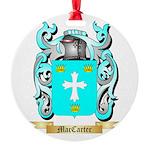 MacCarter Round Ornament