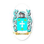 MacCarter Oval Car Magnet