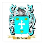MacCarter Square Car Magnet 3