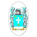 MacCarter Sticker (Oval 10 pk)