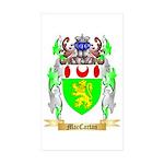 MacCartan Sticker (Rectangle 50 pk)