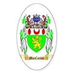 MacCartan Sticker (Oval 50 pk)