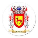 MacCart Round Car Magnet