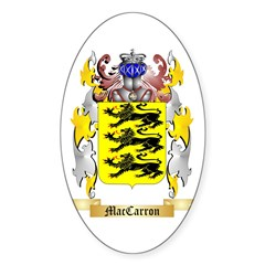 MacCarron Sticker (Oval)