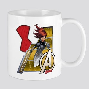 The Avengers Black Widow Flying Mug