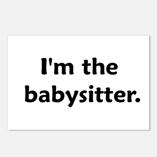 I'm The Babysitter Postcards (Package of 8)