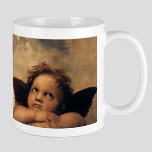 Sistine Madonna Angels by Raphael Mugs