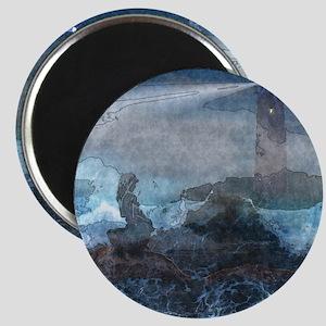 Ocean Sirene watercolor Magnet