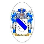 MacCarrigy Sticker (Oval 10 pk)