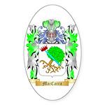 MacCarra Sticker (Oval 50 pk)