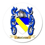 MacCarlais Round Car Magnet