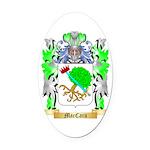 MacCara Oval Car Magnet