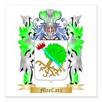 MacCara Square Car Magnet 3