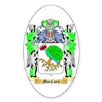 MacCara Sticker (Oval 50 pk)