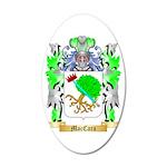 MacCara 35x21 Oval Wall Decal