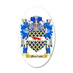 MacCann 35x21 Oval Wall Decal