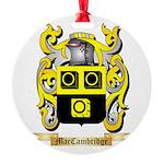 MacCambridge Round Ornament
