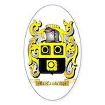 MacCambridge Sticker (Oval 50 pk)