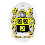 MacCambridge Ornament (Oval)