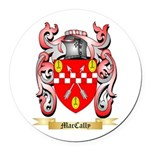 MacCally Round Car Magnet