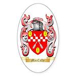 MacCally Sticker (Oval 50 pk)