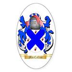 MacCallun Sticker (Oval 50 pk)