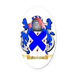 MacCallan Oval Car Magnet