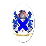 MacCallan 35x21 Oval Wall Decal