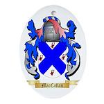 MacCallan Ornament (Oval)