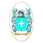 MacCairter Sticker (Oval 50 pk)