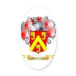 MacCairtair Oval Car Magnet