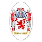 MacCaghy Sticker (Oval 10 pk)