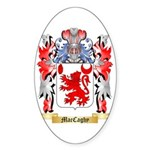 MacCaghy Sticker (Oval 50 pk)