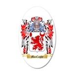 MacCaghy 20x12 Oval Wall Decal