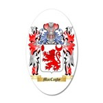 MacCaghy 35x21 Oval Wall Decal