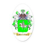 MacCaffrey Oval Car Magnet