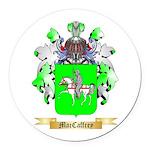 MacCaffrey Round Car Magnet