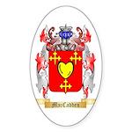 MacCadden Sticker (Oval 50 pk)