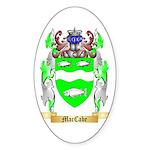 MacCabe Sticker (Oval 10 pk)