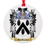 MacBurnie Round Ornament