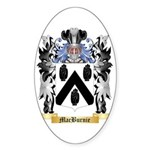 MacBurnie Sticker (Oval)