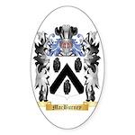 MacBurney Sticker (Oval 10 pk)