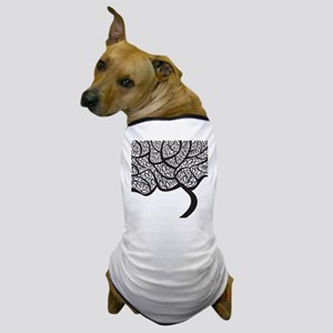 Abstract Tree Dog T-Shirt