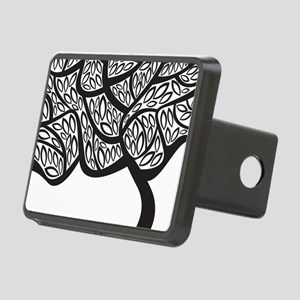 Abstract Tree Hitch Cover