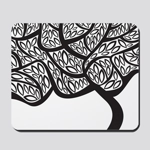 Abstract Tree Mousepad