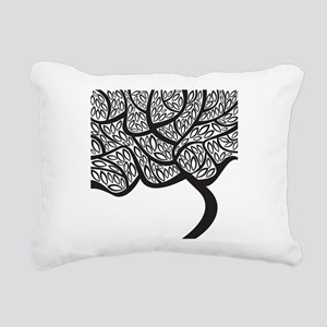 Abstract Tree Rectangular Canvas Pillow