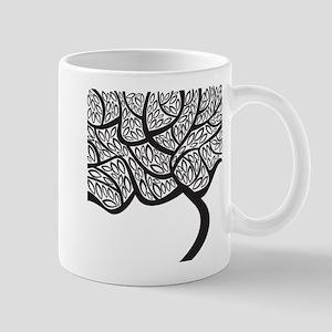 Abstract Tree Mugs